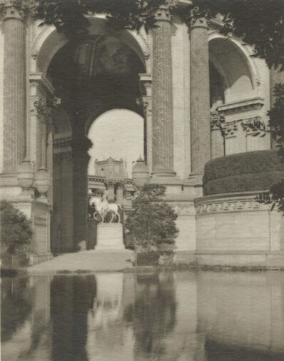 Sigismund Blumann, 'The Horseman Who Never Alights (Palace of Fine Arts, San Francisco)', 1920s