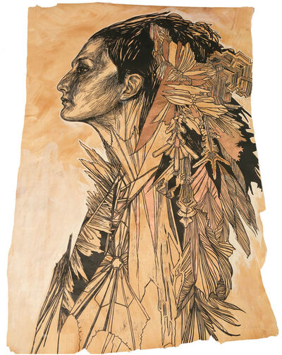 Swoon, 'Ice Queen ', 2012