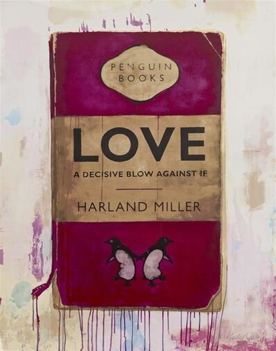 Harland Miller, 'Love, A Decisive Blow Against If ', 2012