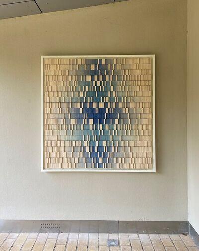 Jacob van der Beugel, 'Disposition in Blue I', 2021