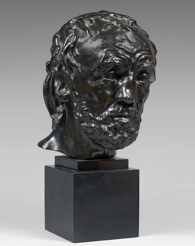 Auguste Rodin, 'L'homme au nez cassé', 1968