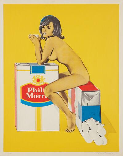 Mel Ramos, 'Tobacco Rhoda, from 11 Pop Artists, Volume II', 1965