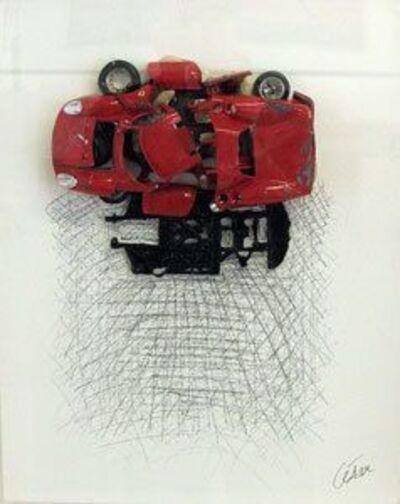 César, 'Ferrari rouge', 1996