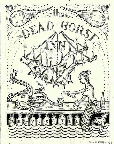 Duke Riley, 'The Dead Horse Inn Revisited', 2012