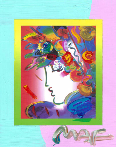 Peter Max, 'Blushing Beauty on Blends (Ref. # 2253)', 2007