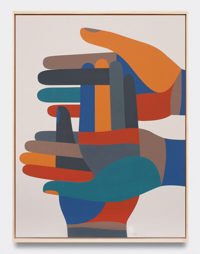 Geoff McFetridge, 'Image Based Gamelan 2: Transfigurationists', 2020