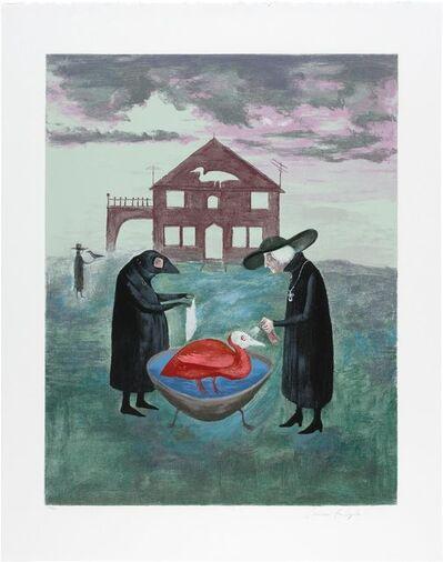 Leonora Carrington, 'Bird Bath', 1974