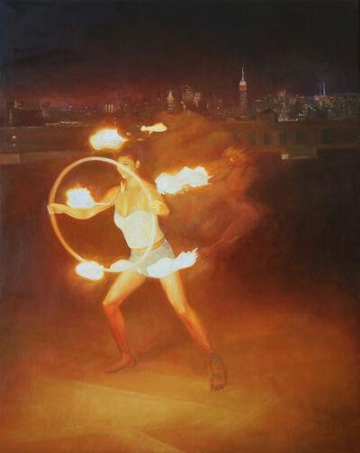 David Molesky, 'Night of the Burn', 2020