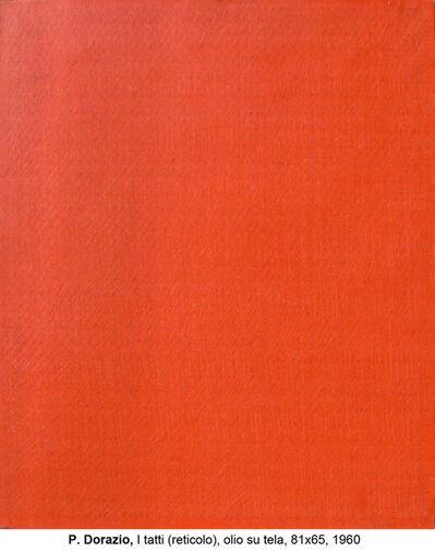 Piero Dorazio, 'I tatti (reticolo)', 1960