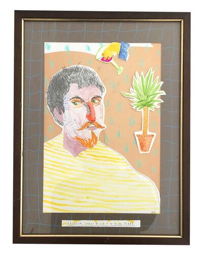 Dan Jamieson, 'Gaugin, Glass Of Vin And A Yucca Plant', 2017