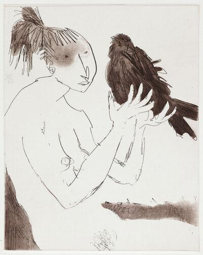 Quentin Blake, 'Women with Birds II', 2012
