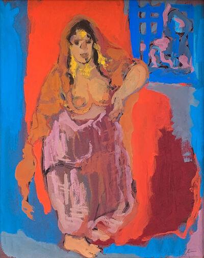 Mané-Katz, 'Femme de Djerba'