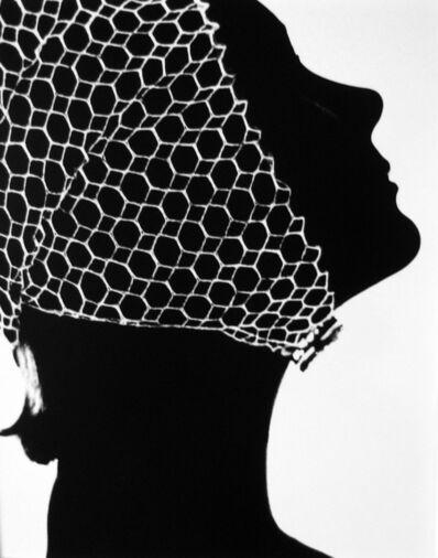 Lillian Bassman, 'Mesh Cap, California', ca. 1950
