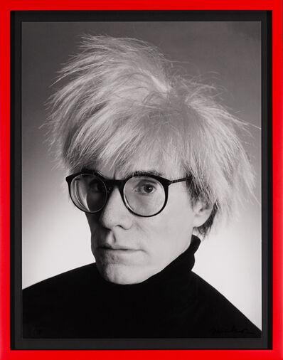 Christopher Makos, 'Archival Andy Warhol Portrait', 2020