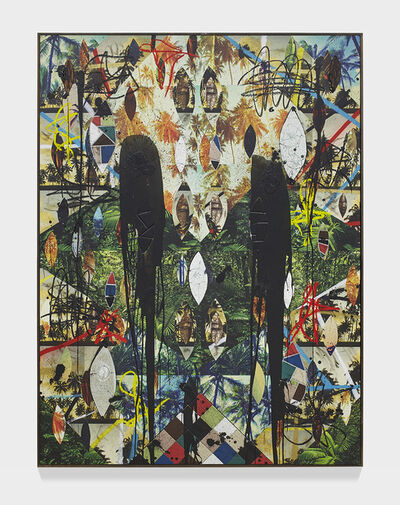 Rashid Johnson, 'Untitled Escape Collage', 2019