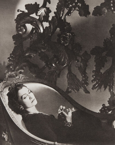 Horst P. Horst, 'Coco Chanel, II, Paris', 1937