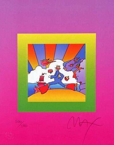 Peter Max, 'Cosmic Runner on Blends ', 2005