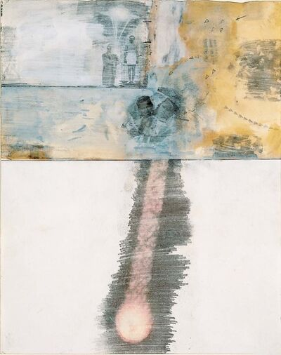 Robert Rauschenberg, 'Canto XVI: Circle Seven, Round 3, The Violent Against Nature and Art, from the series Thirty-Four Illustrations for Dante's Inferno', 1959–60