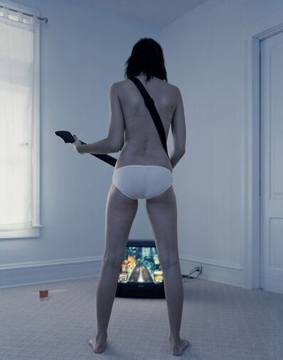 Angela Strassheim, 'Untitled (Guitar Hero)', 2007