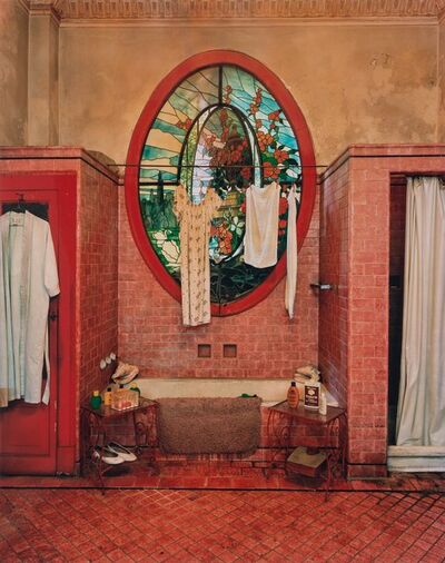 Michael Eastman, 'Red Bathroom (Havana)', 2002