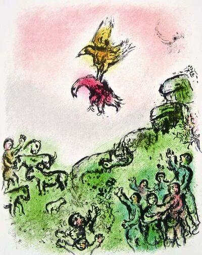 Marc Chagall, 'The Goshawk and the Dove (The Odyssey Portfolio)', 1989