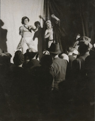 Brassaï, 'Conchita's Dance, Boulevard Auguste-Blanqui', ca. 1931