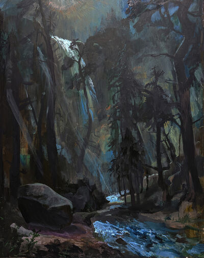 Johnny Defeo, 'Moonlight Rainbow Mist (waterfalls don't turn off at night)', 2019