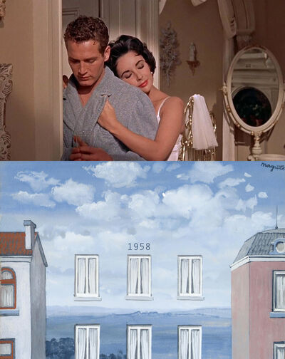 Bonnie Lautenberg, '1958, Cat On A Hot Tin Roof - Rene Magritte, L'Etat De Veille', 2020