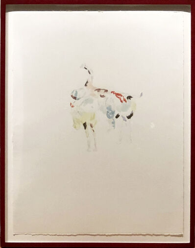 Anne Chu, 'Study for a Boy Living on a Horse', 1998