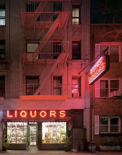 David Leventi, 'Golden Rule Wine & Liquor Store, 457 Hudson Street, West Village, New York', 2007