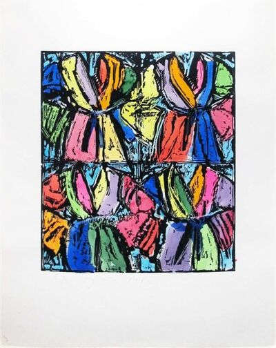 Jim Dine, 'Dexter's Four Robes', 1992