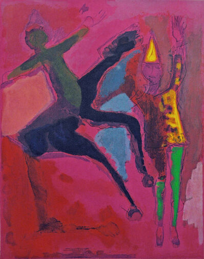 Marino Marini, 'Marino, from Shakespeare II, Plate VI', 1978