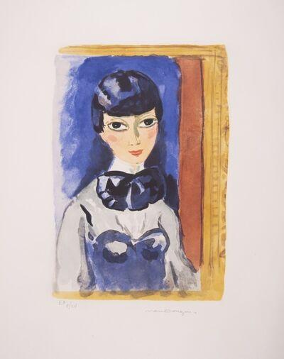 Kees van Dongen, 'Claudine (Mlle Oeuie de Lynx) (Juffermans 28)', circa 1950