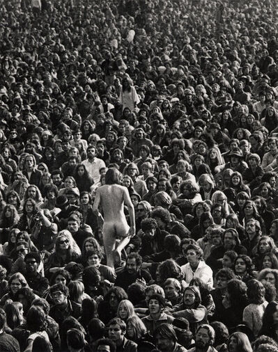 Bill Owens, 'The Naked Guy & Altamont 1969 Book', 1969