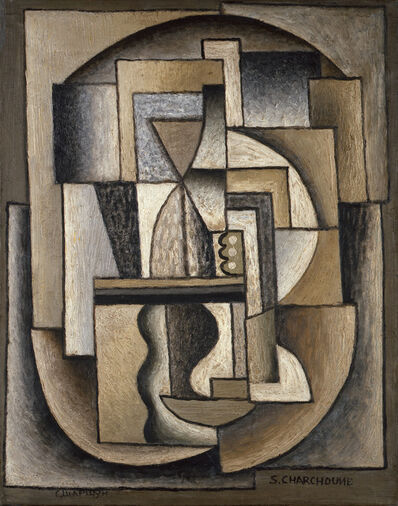 Serge Charchoune, 'Composition Cubisme Ornemental', 1922