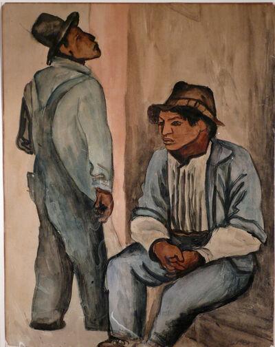Pablo O'Higgins, 'UNTITLED (TWO MEN)', 1925-1930