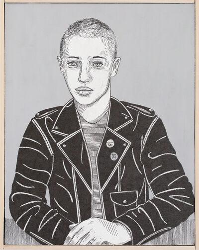 Jason Andrew Turner, 'she (leather)', 2016
