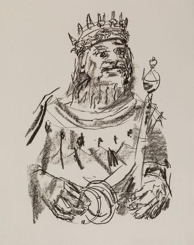 Oskar Kokoschka, 'A Group of Nine Works: King Lear, Manhattan (5), Persian War (2), and Portrait of a Woman'
