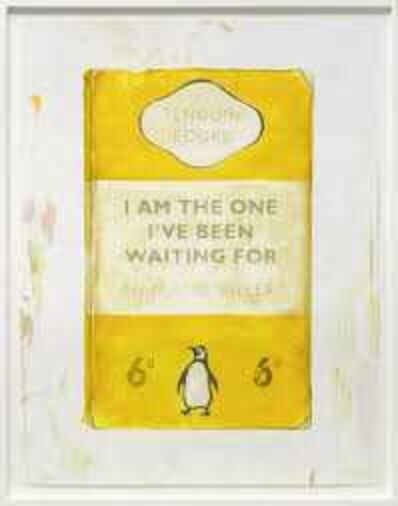 Harland Miller, 'I am the the one I've been waiting for', 2016