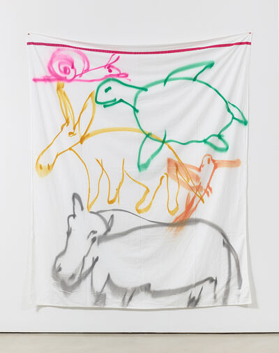 Polly Apfelbaum, 'Stacked Animals', 2016
