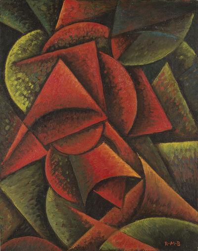 Roberto Marcello Baldessari, 'Dinamismo di forme (Forme dinamiche 10°)', 1915