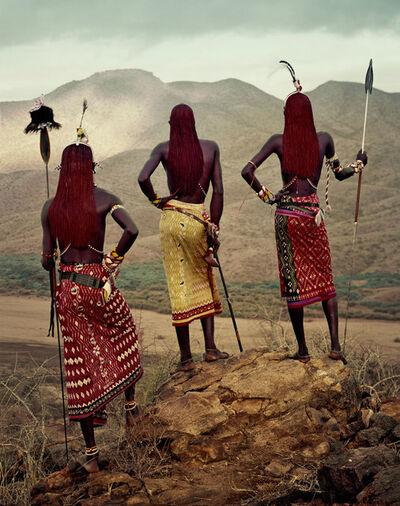 Jimmy Nelson, 'XVII 219, Nyerere, Lamulen & Loingu, Milgis, Kenya', 2010