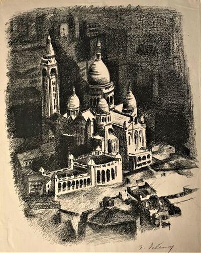 Robert Delaunay, 'La Butte Montmartre et le Sacré - Coeur', 1926
