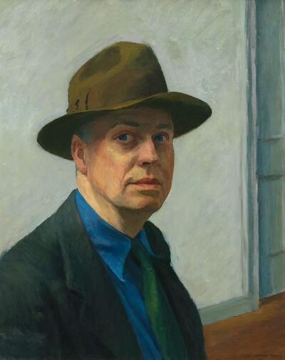 Edward Hopper, 'SelfPortrait', 1925-1930