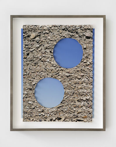 Letha Wilson, 'Folded Ground Sky Holes', 2018
