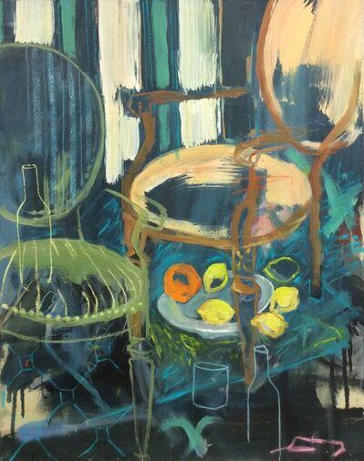 Gopal Dagnogo, 'Deux fauteuils et des citrons ', 2016