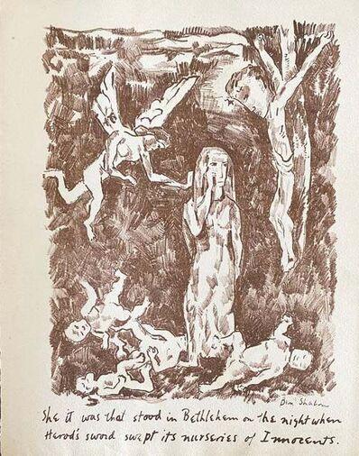 Ben Shahn, 'Untilted', 1931