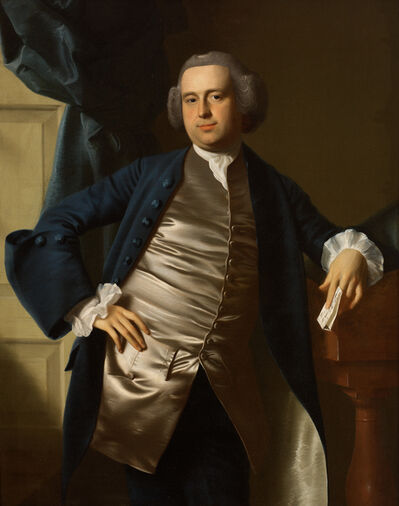 John Singleton Copley, 'Portrait of the Honorable Moses Gill, Esq.', 1764