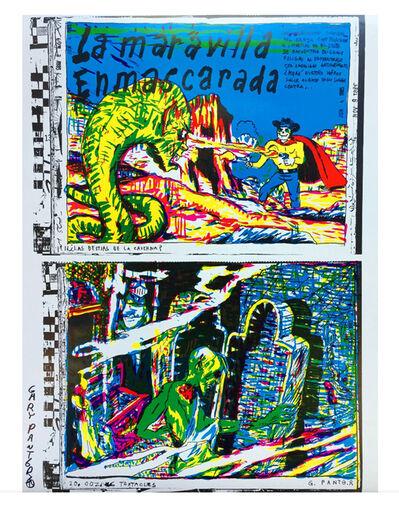 Gary Panter, 'Signed Gary Panter La Maravilla Enmascarada', 1986
