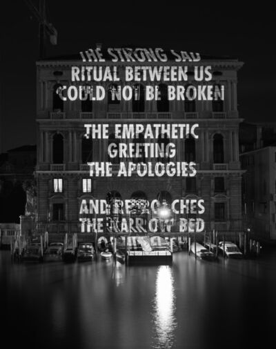 Jenny Holzer, 'Ritual between us...', 2006